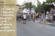 La 11ª edició de l'Aquatló de l'Ametlla de Mar esdevé tot un èxit d'afluència de públic i participació