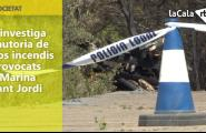 S'investiga l'autoria de dos incendis provocats a Marina Sant Jordi