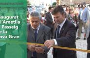 Inaugurat a l'Ametlla el Passeig de la Cova Gran