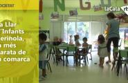 La Llar d'Infants Xernola, la més barata de la comarca