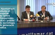 L'Ajuntament de l'Ametlla de Mar rebutja el projecte de centre d'experimentació i proves de tecnologia de generació eòlica.