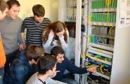Visita dels alumnes de Telemàtica