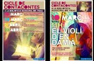 Cicle de Contacontes a la Biblioteca Dr. Frías