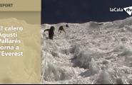 El calero Agustí Pallarés torna a l'Everest