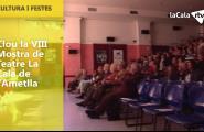 Clou la VIIIª Mostra de Teatre La Cala de l'Ametlla