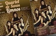 Concert del Quartet de Saxos Limnos