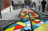 Veïns de l'Ametlla de Mar, participen al IV Congrés Internacional d'Art Efímer