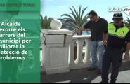 L'Alcalde recorre els carrers del municipi per millorar la detecció de problemes