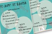 Las Banda de la Cala celebra 30 anys de música aprofitant la celebració de Santa Cecília