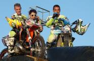 Espectacular Freestyle Show de La Cala Gas Els riders Antonio Navas i Marc Piñol protagonitzen una jornada inoblidable pels aficionats al motor.
