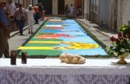 Disseny i color a les Catifes de Corpus de l'Ametlla de Mar
