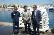 L'Ametlla de Mar instal·la boies ecològiques amb forma de biòtops artificials a l'Alguer i Pixavaques