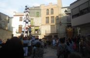 Los Xics Caleros coronen els seus primers castells de sis aquest estiu