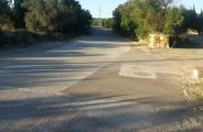 Darrera fase d'arranjament de camins malmesos pels aiguats del setembre del 2010
