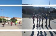 35 alumnes participen de les activitats extraescolars de Volei i Patinatge a l'Escola