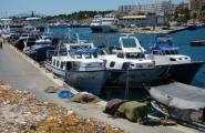 Les embarcacions de l'arrossegament de la Cala en aturada biològica després d'una bona temporada
