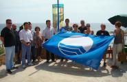 L'Ametlla de Mar renova els 8 distintius blaus a la seva costa