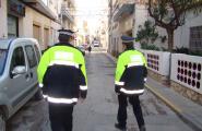 Dos detinguts per robatori al carrer Goya