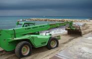 L'Ajuntament de l'Ametlla de Mar aporta 1.600m3 de sorra a les platges