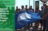 Hissada oficial de banderes Blaves i Platges Verges