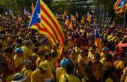 Els caleros se sumen a la V a Barcelona en una Diada històrica
