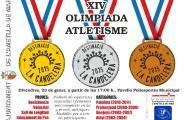 L'Olimpíada d'atletisme enceta els actes de preludi de Candelera 2015