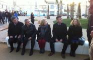 Joana Ortega inaugura el Parc del Bon Repòs