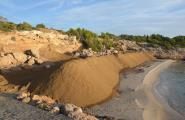 Marxa enrere de Costes de regenerar les platges caleres amb sorres de pedrera