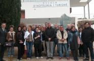 Representants de l'hostaleria local es formen a l'Escola d'Hoteleria i Turisme de Cambrils