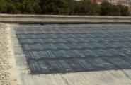 L'Ajuntament repara les teulades de l'escola i el poliesportiu