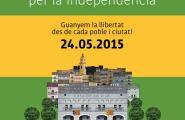 CiU i ERC a l'Ametlla de Mar signen el compromís «Els Ajuntaments per la Independència» proposat de la Cala per la Independència