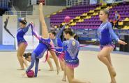 Decepció de les gimnastes caleres pel resultat al Campionat d'Espanya