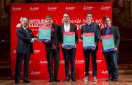 El quartet de saxos Kebyart Ensemble guanya el premi 'El Primer Palau 2016'