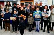 Casa Consarnau en aparador, i Manoli Ontanilla en façana, guanyadores del 34è premi d'Aparadors i Façanes de Nadal que impulsa l'Àrea Municipal de Turisme