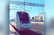Una avaria a l'altura de Calafat va tallar dilluns a la tarda la circulació ferroviària