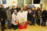 Un periodista letó passa per l'Ametlla de Mar en la seva aventura per la Via Catalana