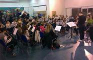 La Banda de la Cala participa aquest cap de setmana en un intercanvi a Tauste