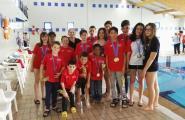 16 Podis al Campionat Territorial de natació
