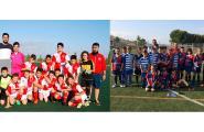 L'Aleví campió de lliga i el Benjamí finalista a Gandesa