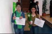 Dos alumnes de l'Escola participaran aquest dissabte a la final dels Jocs Florals Escolars