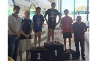 Pòdium a la Final de Catalunya per a la natació calera