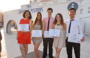 La primera promoció del Batxibac de l'Institut Candelera ja està graduada