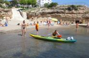 Reposició de 415m3 de sorra per a les platges de Bon Capó, Cala Pepo i Pixavaques