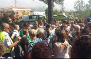 Un tren deixa 200 passatgers llençats a la platja de l'Almadrava