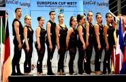 Medalla de bronze per al grup sènior del Club Twirling l'Ametlla de Mar en la Copa d'Europa