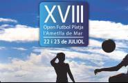Aquest dimecres es tanquen les inscripcions pel 18è Open de Futbol Platja