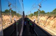 250 viatgers s'han quedat atrapats novament en un tren regional entre l'Ametlla de Mar i l'Hospitalet de l'Infant
