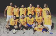 JPQ s'imposa a la final de l'Open de Futbol Platja