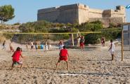 El torneig de Vòlei Platja celebrarà 20 anys aquest dissabte amb una nova cita a la platja de Sant Jordi
