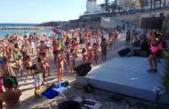 Beach Màster Classes amb la campanya Mulla't per l'Esclerosi Múltiple